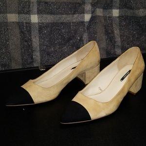 Zara Block Heeled shoes